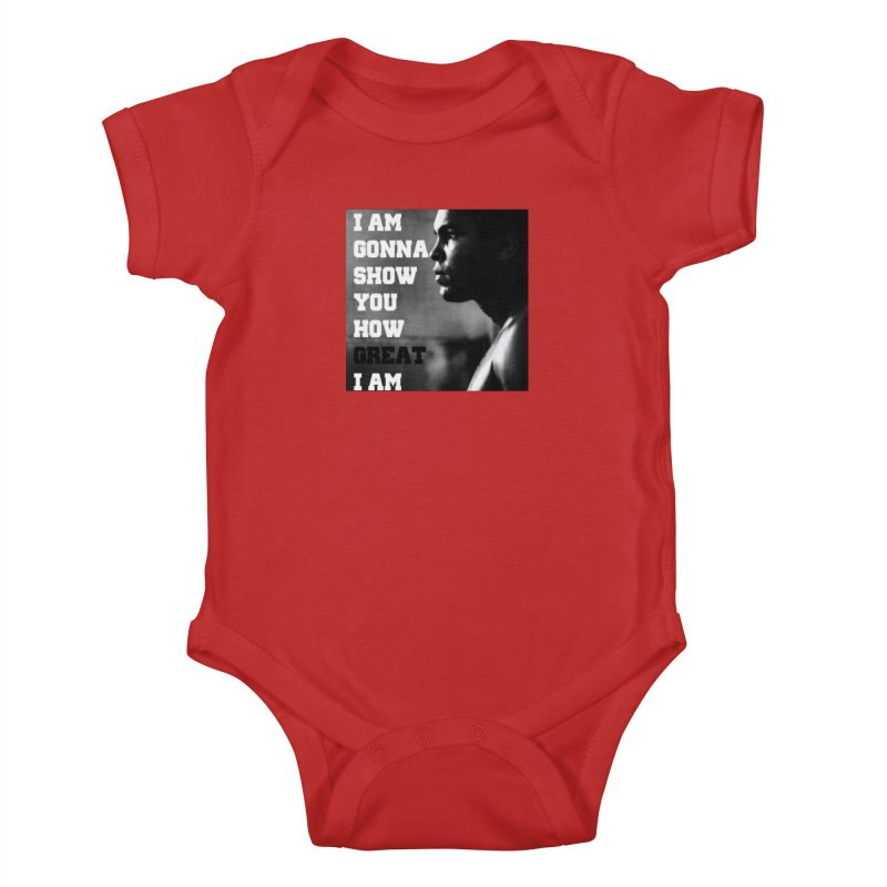 Greatness Kids Baby Bodysuit by Antonio's Artist Shop