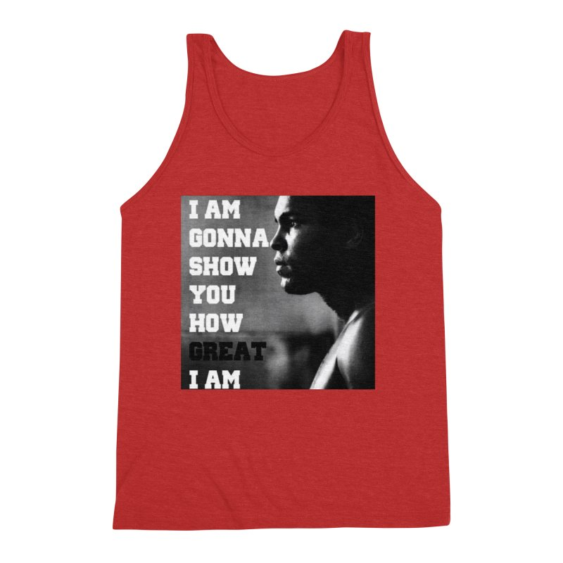 Greatness Men's Triblend Tank by Antonio's Artist Shop