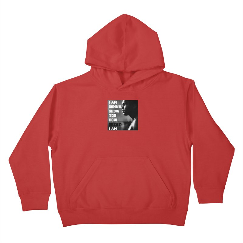 Greatness Kids Pullover Hoody by Antonio's Artist Shop
