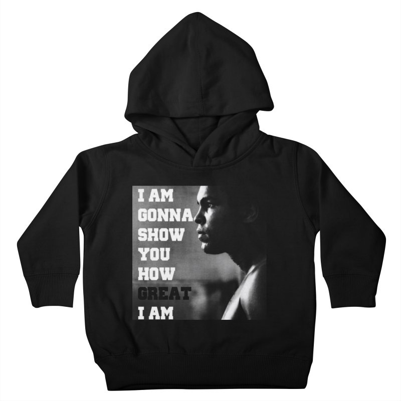 Greatness Kids Toddler Pullover Hoody by Antonio's Artist Shop