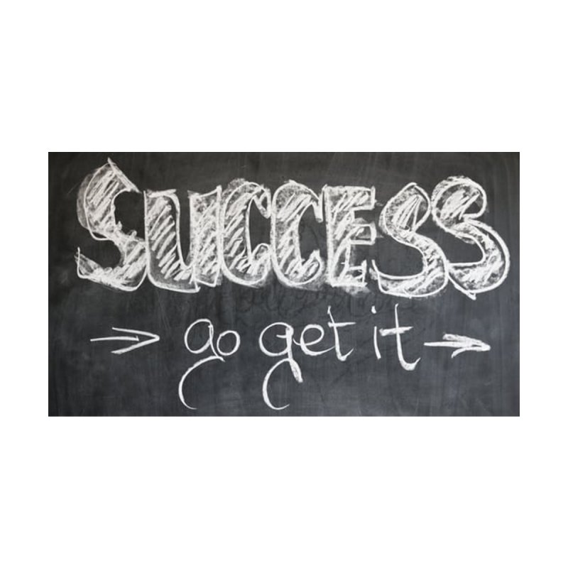 Success Accessories Beach Towel by Antonio's Artist Shop