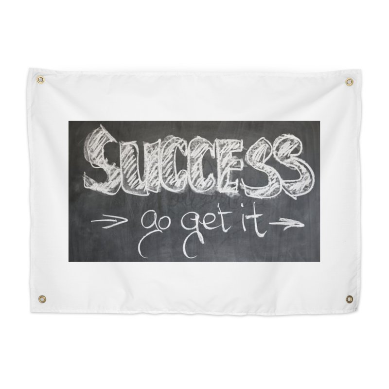 Success Home Tapestry by Antonio's Artist Shop
