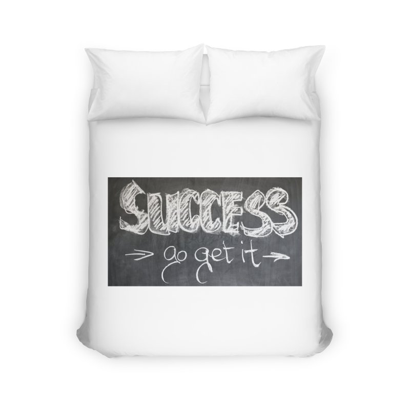 Success Home Duvet by Antonio's Artist Shop