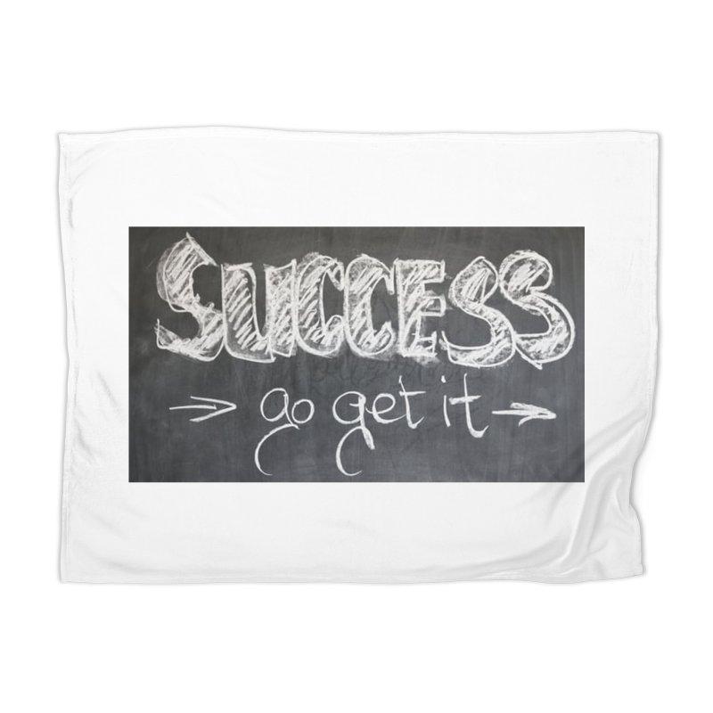 Success Home Blanket by Antonio's Artist Shop