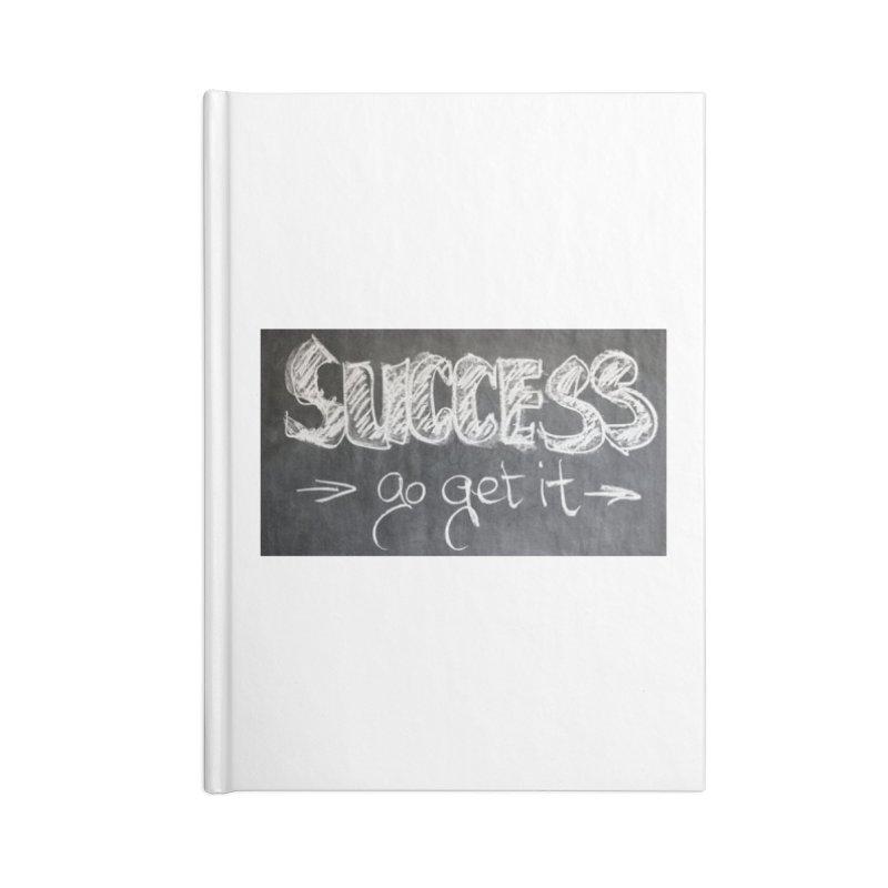 Success Accessories Blank Journal Notebook by Antonio's Artist Shop