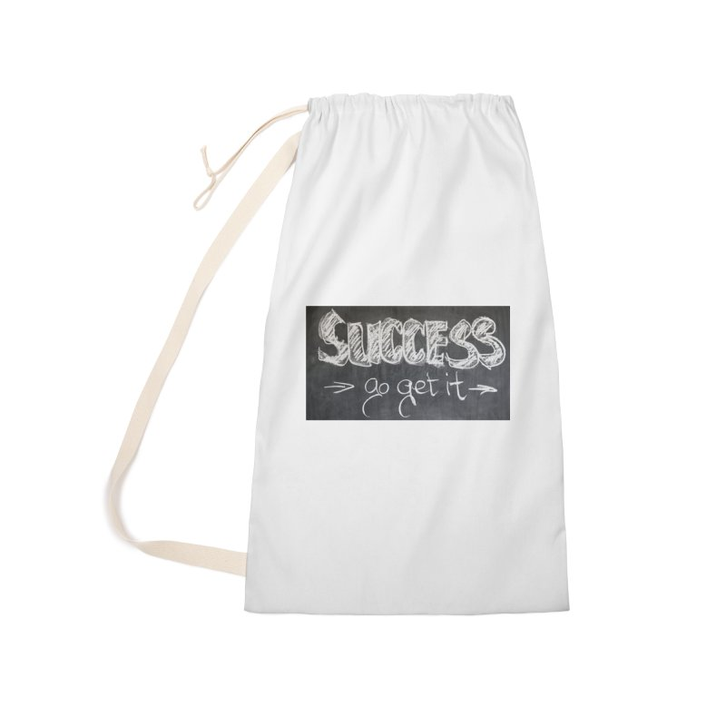 Success Accessories Laundry Bag Bag by Antonio's Artist Shop