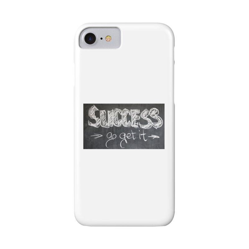 Success Accessories Phone Case by Antonio's Artist Shop