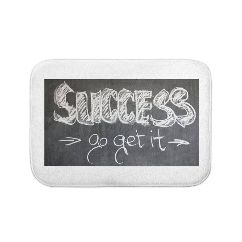 Success Home Bath Mat by Antonio's Artist Shop