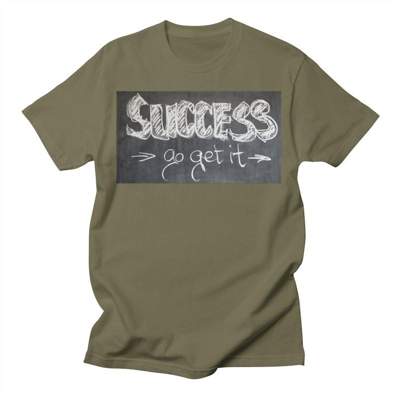 Success Men's T-Shirt by Antonio's Artist Shop