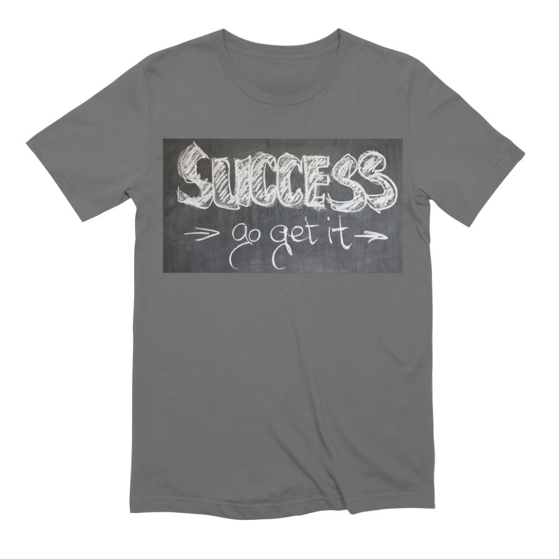 Success Men's T-Shirt by Antonio's Artist Shop