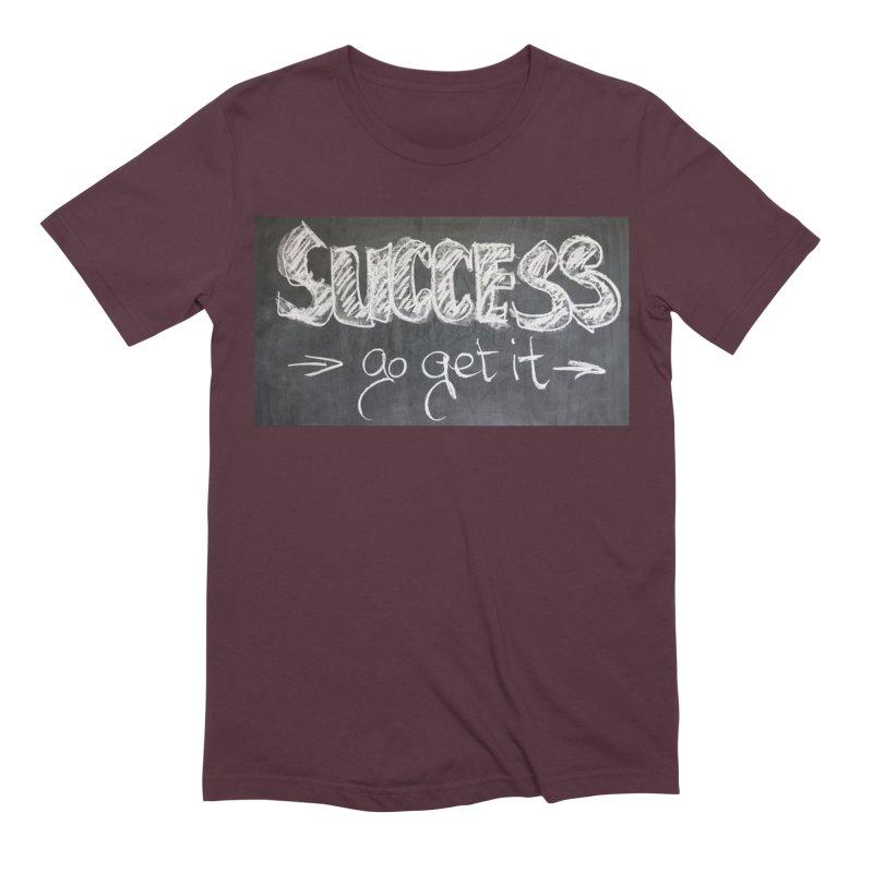 Success Men's Extra Soft T-Shirt by Antonio's Artist Shop