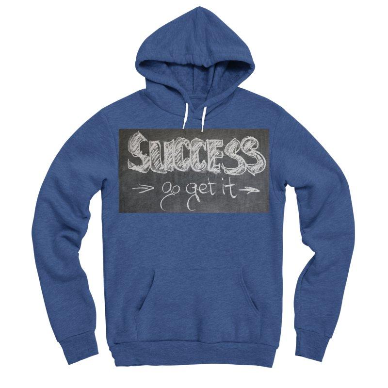 Success Men's Sponge Fleece Pullover Hoody by Antonio's Artist Shop