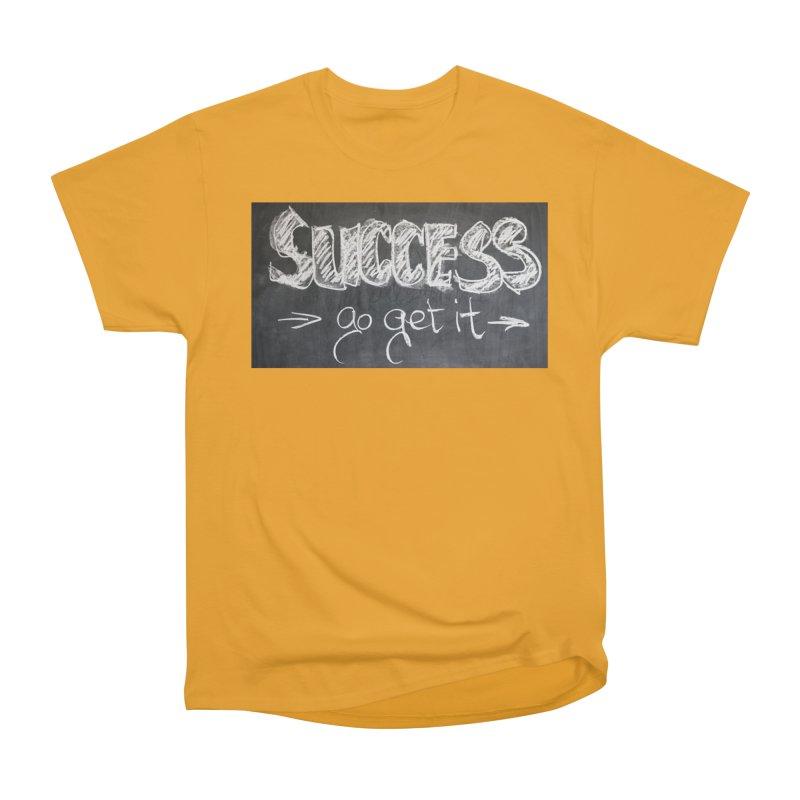 Success Men's Heavyweight T-Shirt by Antonio's Artist Shop