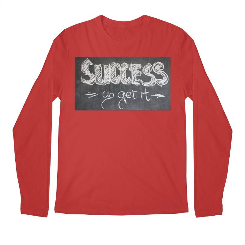 Success Men's Regular Longsleeve T-Shirt by Antonio's Artist Shop
