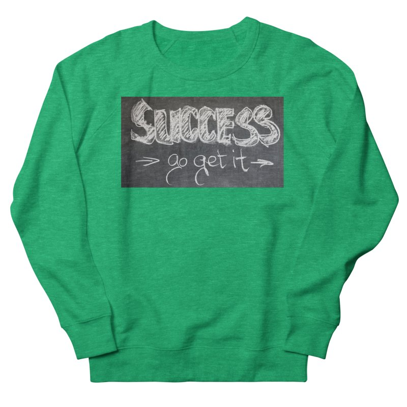 Success Men's Sweatshirt by Antonio's Artist Shop
