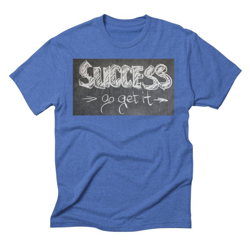Success Men's Triblend T-Shirt by Antonio's Artist Shop