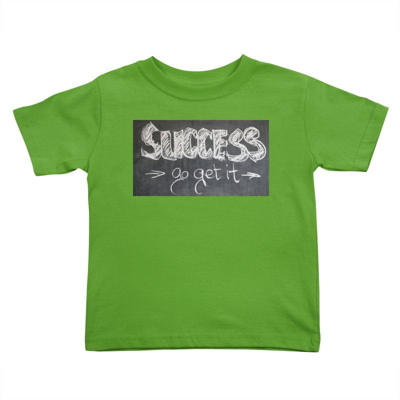 Success Kids Toddler T-Shirt by Antonio's Artist Shop