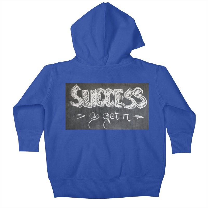 Success Kids Baby Zip-Up Hoody by Antonio's Artist Shop