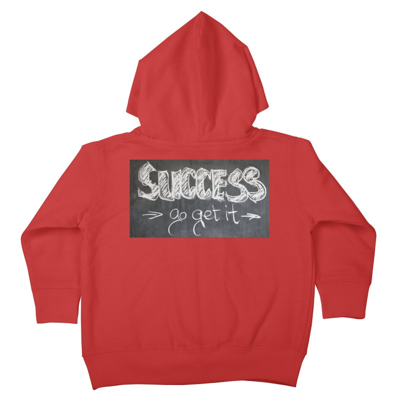 Success Kids Toddler Zip-Up Hoody by Antonio's Artist Shop