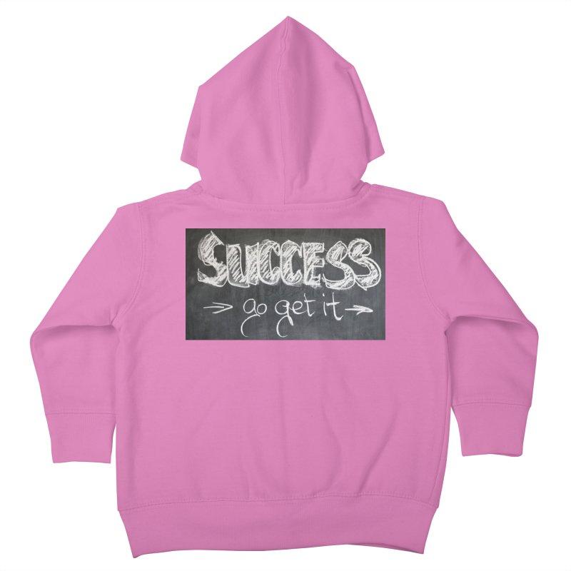 Success Kids Toddler Zip-Up Hoody by Antonio's Artist Shop