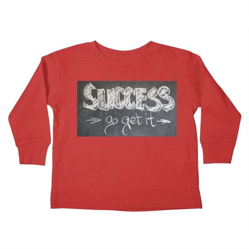 Success Kids Toddler Longsleeve T-Shirt by Antonio's Artist Shop