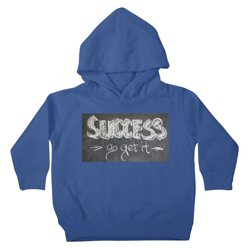 Success Kids Toddler Pullover Hoody by Antonio's Artist Shop