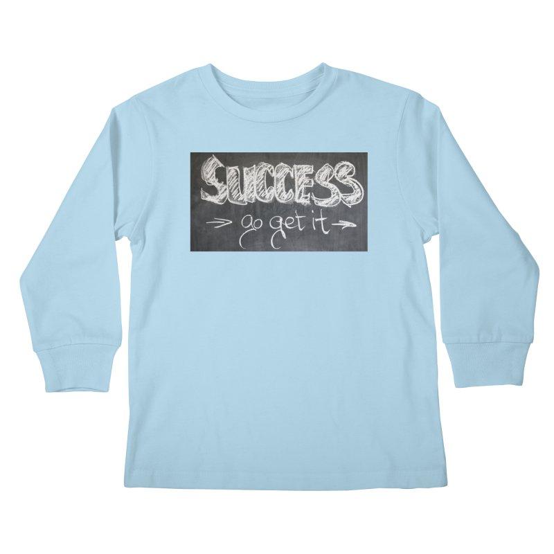 Success Kids Longsleeve T-Shirt by Antonio's Artist Shop