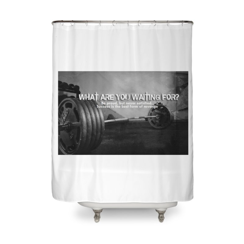 Waiting Home Shower Curtain by Antonio's Artist Shop