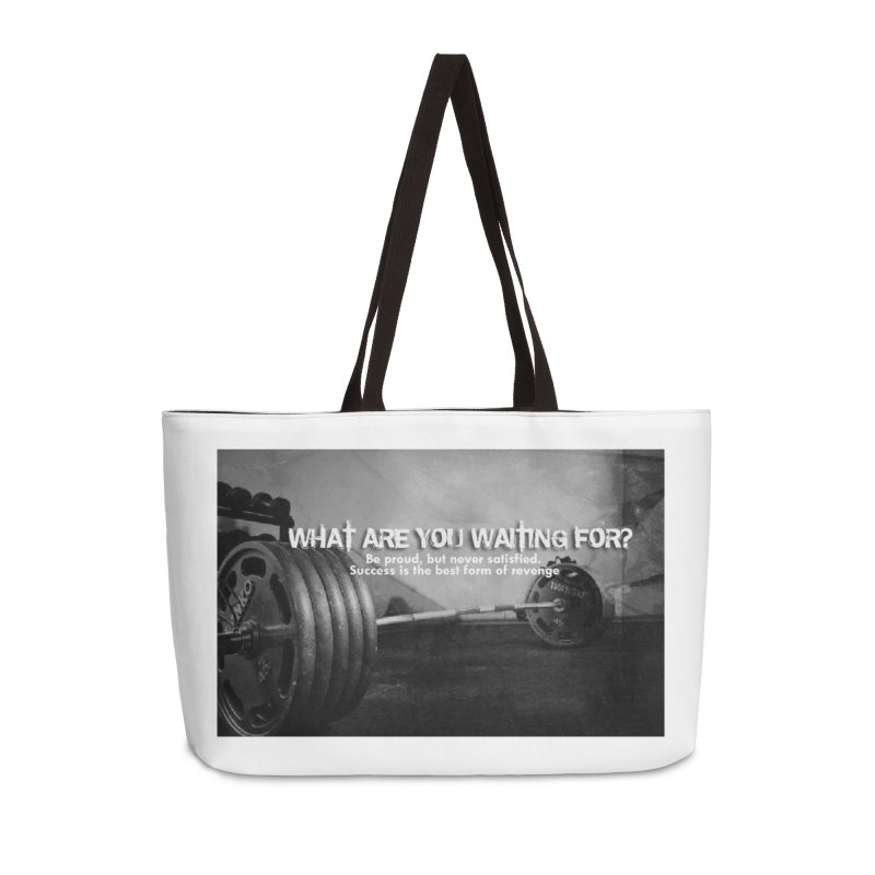 Waiting Accessories Bag by Antonio's Artist Shop