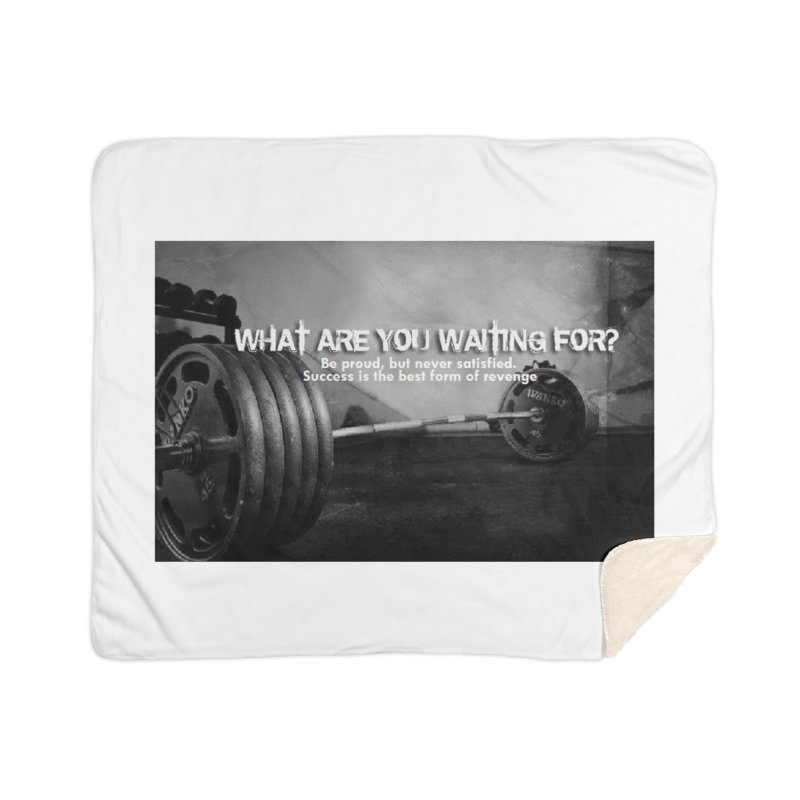 Waiting Home Sherpa Blanket Blanket by Antonio's Artist Shop
