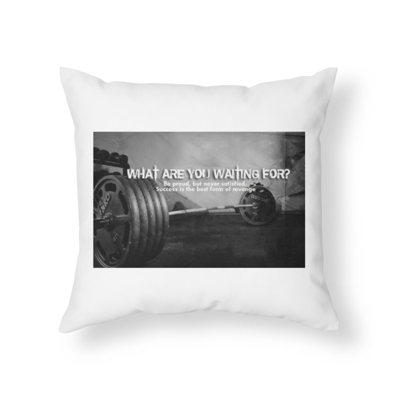 Waiting Home Throw Pillow by Antonio's Artist Shop