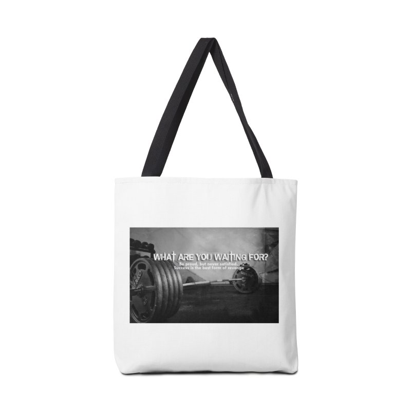 Waiting Accessories Bag by Antonio's Artist Shop