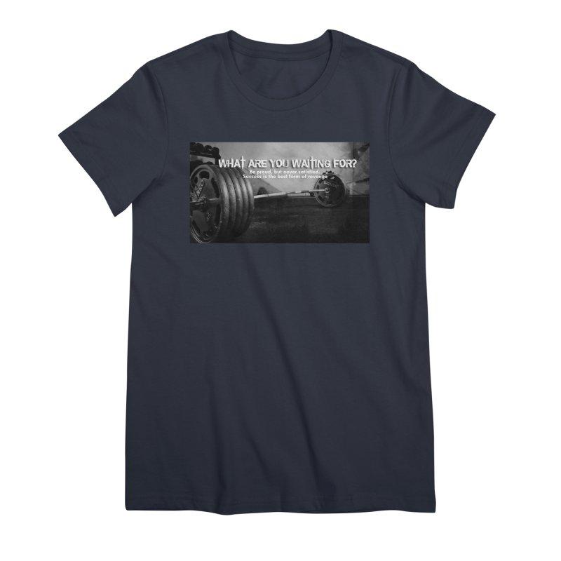 Waiting Women's Premium T-Shirt by Antonio's Artist Shop