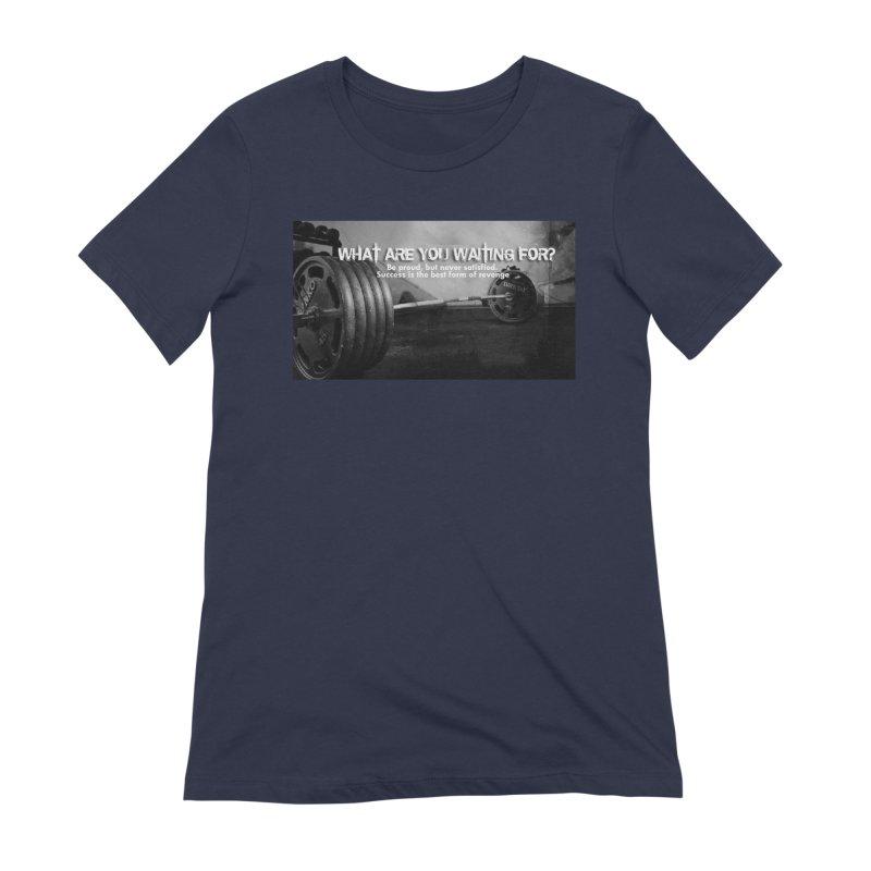 Waiting Women's Extra Soft T-Shirt by Antonio's Artist Shop