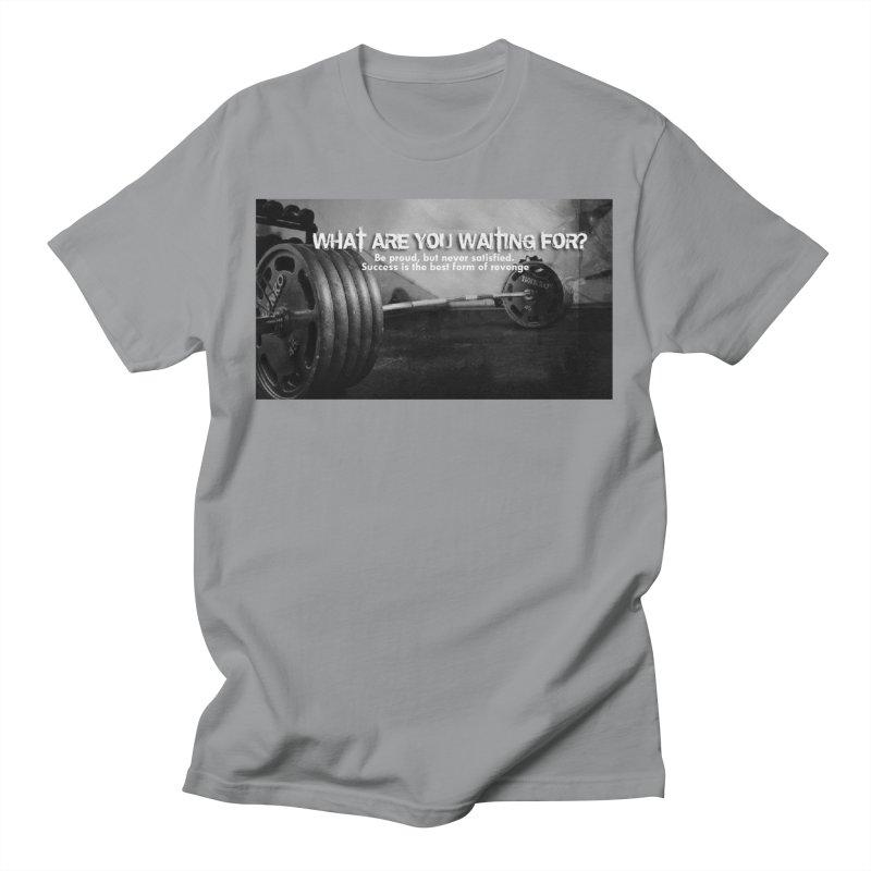 Waiting Men's T-Shirt by Antonio's Artist Shop
