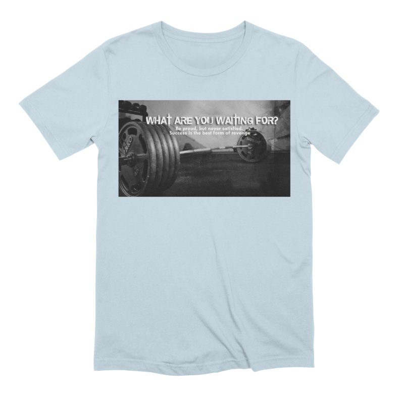 Waiting Men's Extra Soft T-Shirt by Antonio's Artist Shop