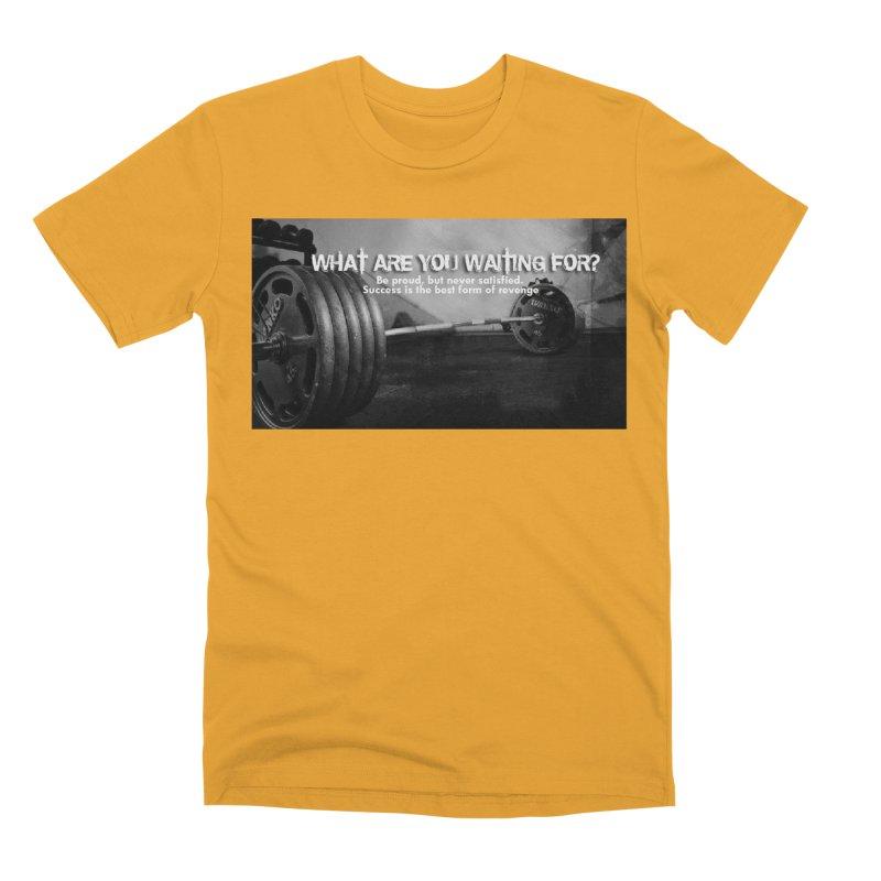 Waiting Men's Premium T-Shirt by Antonio's Artist Shop