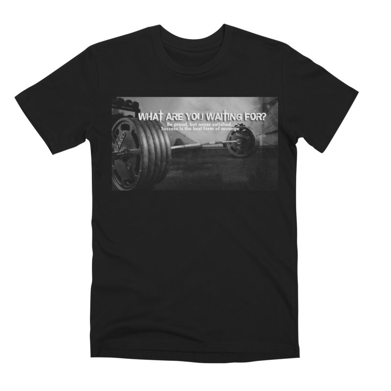 Waiting Men's Premium T-Shirt by Antonio's Artist Shop