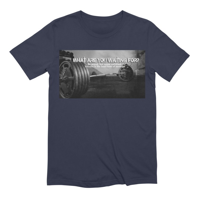 Waiting Men's Extra Soft T-Shirt by Antonio's Artist Shop