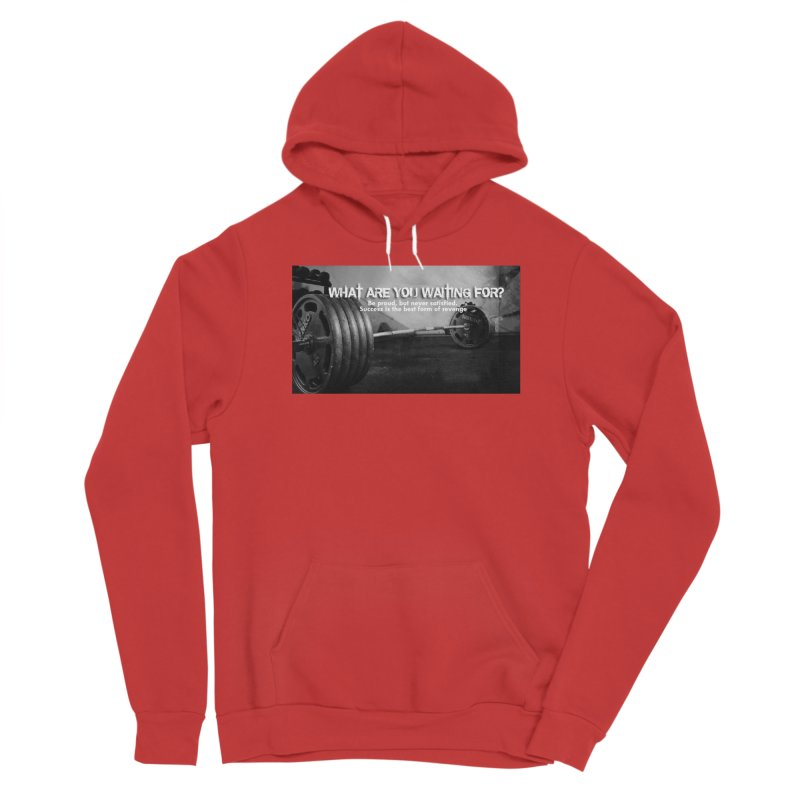 Waiting Men's Pullover Hoody by Antonio's Artist Shop