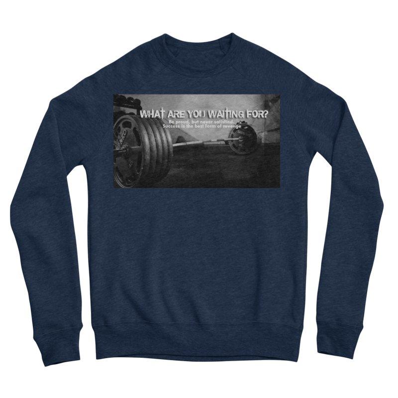 Waiting Men's Sweatshirt by Antonio's Artist Shop
