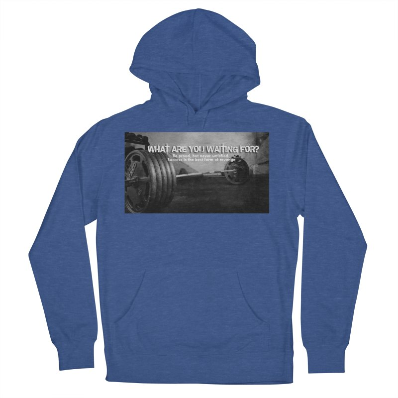 Waiting Women's French Terry Pullover Hoody by Antonio's Artist Shop