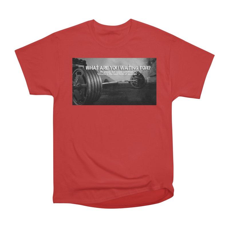 Waiting Women's Heavyweight Unisex T-Shirt by Antonio's Artist Shop