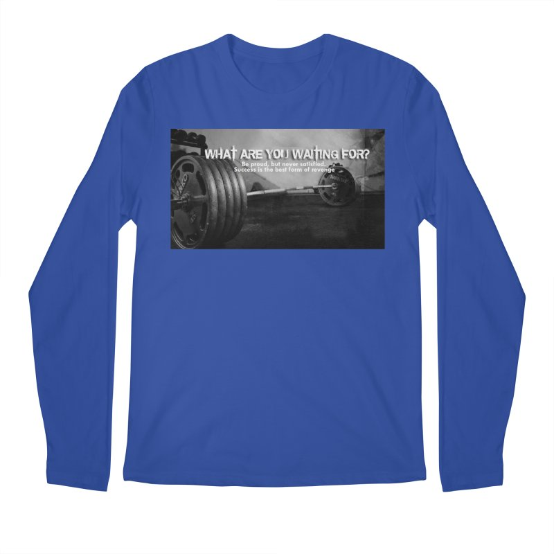 Waiting Men's Regular Longsleeve T-Shirt by Antonio's Artist Shop