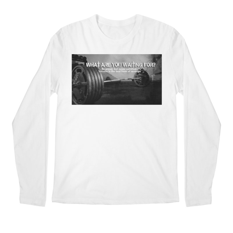 Waiting Men's Regular Longsleeve T-Shirt by Antonio's Artist Shop