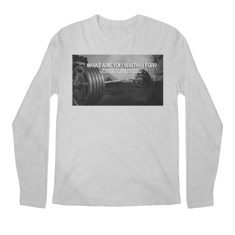 Waiting Men's Longsleeve T-Shirt by Antonio's Artist Shop