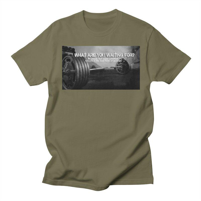 Waiting Men's Regular T-Shirt by Antonio's Artist Shop