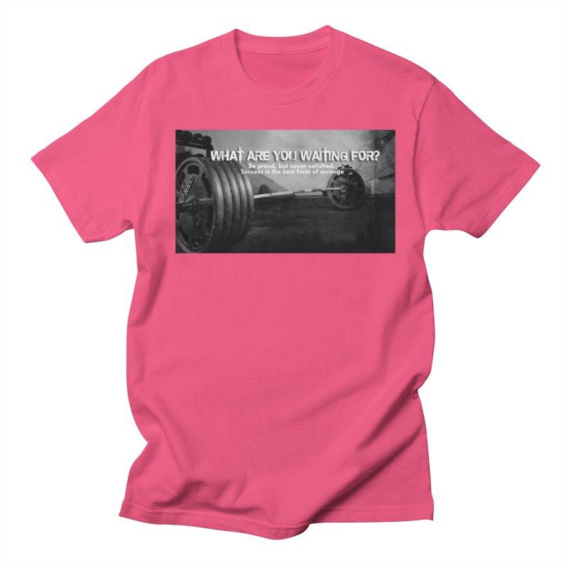 Waiting Women's Regular Unisex T-Shirt by Antonio's Artist Shop