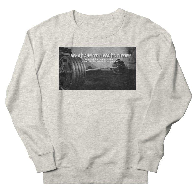 Waiting Women's French Terry Sweatshirt by Antonio's Artist Shop
