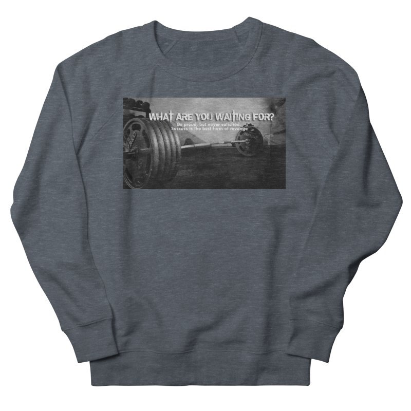 Waiting Men's Sweatshirt by Antonio's Artist Shop